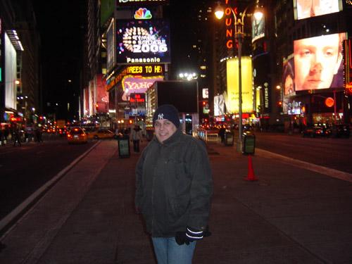 Vlado on Times Square