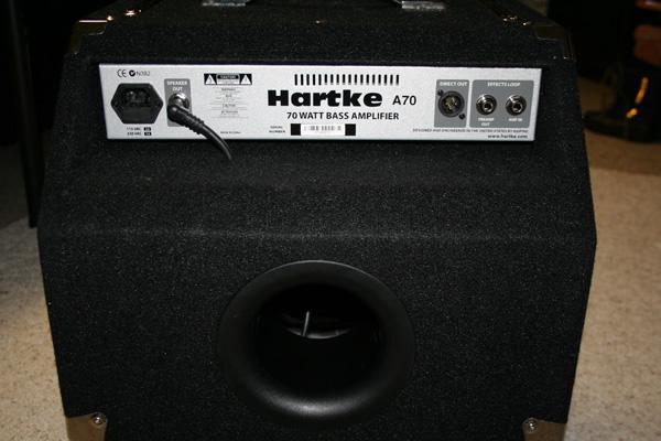 Rear Amp Panel